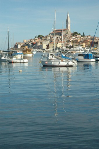 Rovinj Croatia harbour