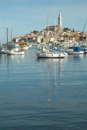 Rovinj Croatia harbour