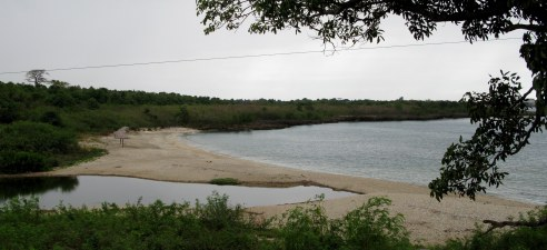 Sand beaches Bay of Pigs Cuba