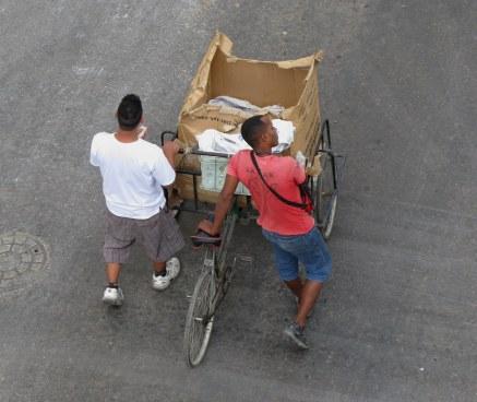 Sausages to go Havana Cuba