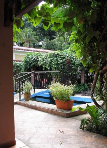 Shady bar Almendares Park Cuba