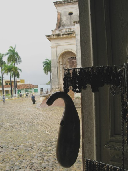 Shop entrance Plaza Mejor Trinidad de Cuba