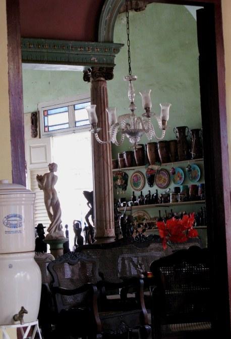 Shop in dining room Trinidad de Cuba