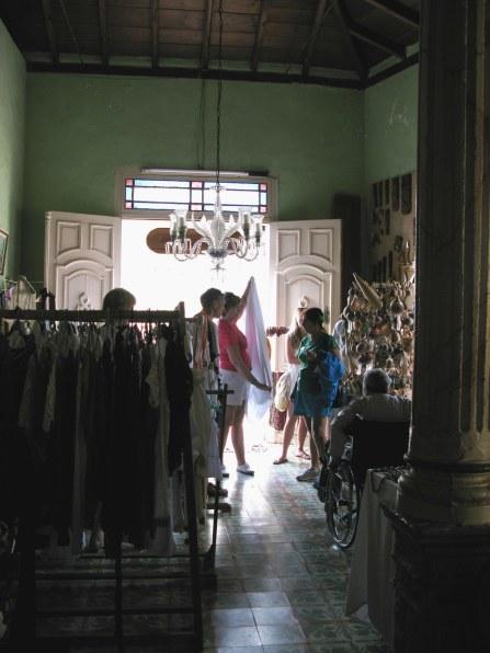 Shop in house in Trinidad de Cuba