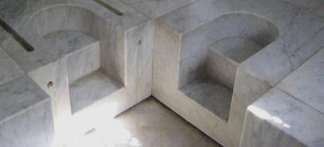 Side-by-side baths Dar Sebastian Hammamet Tunisia