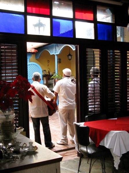 Stained glass Bar Esquerra Trinidad de Cuba