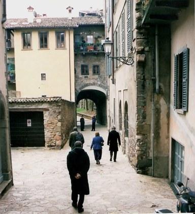 Streets of Bergamo Alta