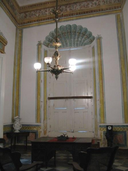 Study doorway of Palacio Cantero Trinidad de Cuba