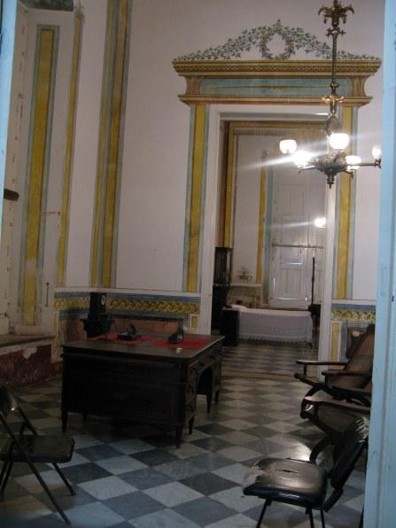 Study in Palacio Cantero Trinidad de Cuba