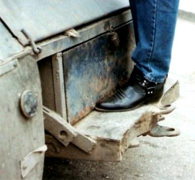Stylish cowboy boot Agricultural Fair-Havana-Cuba
