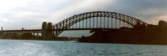 Sydney Harbour Bridge from Bradley's Head