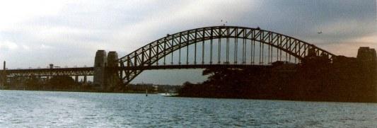 Sydney Harbour Bridge from Bradley's Head