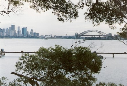 Sydney Harbour Bridge view from Bradley's Head