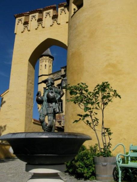 The Gooseman Fountain Hohenschwangau Castle Bavaria