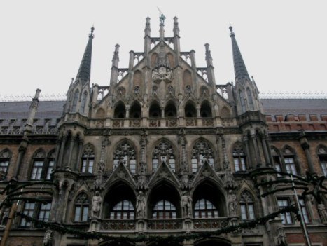 The New Town Hall Marienplatz Munich