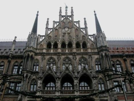 The New Town Hall Marienplatz Munich