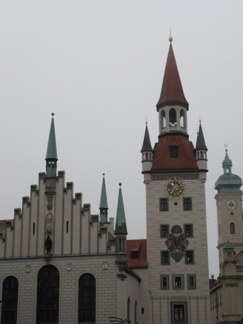 The Old Town Hall Marienplatz Munich