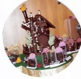 Tokyo Hilton Chocolate Easter Egg House
