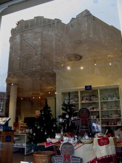Trier Christmas Market Porta Nigra reflection