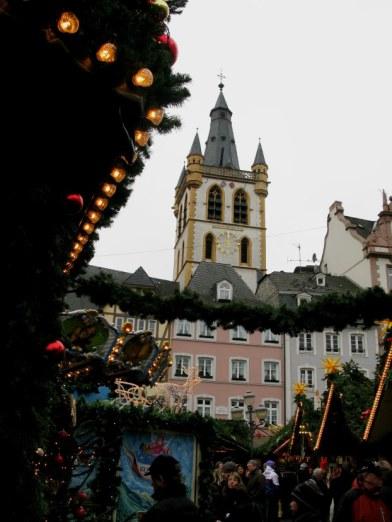 Trier Christmas Market Clocktower