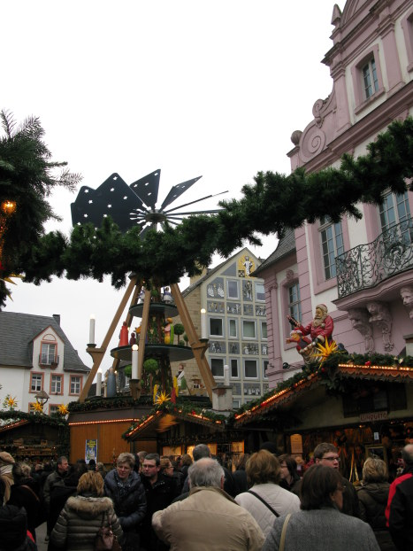 Trier Christmas Market decorations