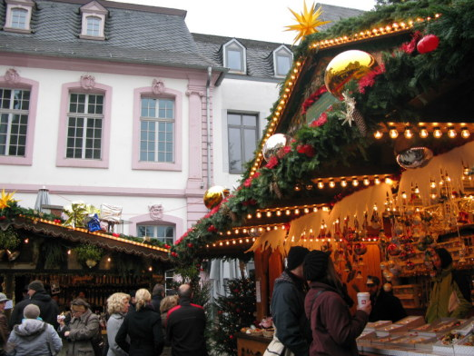 Trier Christmas Market glass baubles