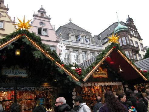 Trier Christmas Market medieval setting