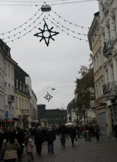 Trier Christmas Market nearby streets