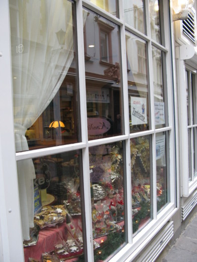 Trier Christmas coffee shop with gingerbread houses