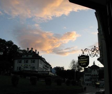 Twilight clouds Hohenschwangau Bavaria