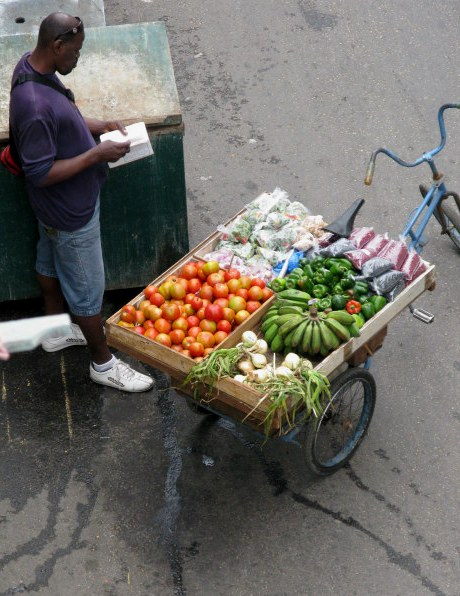 Vegetable cart Havana Cuba