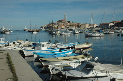 View of Rovinj Croatia