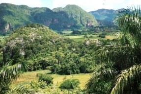 View of Viñales valley from Horizontes Los Jazmines Hotel -Pinar - Cuba