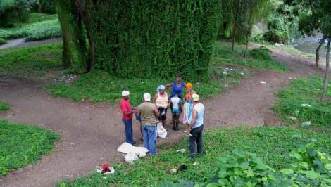 Voodoo sacrifices Almendares Park Cuba