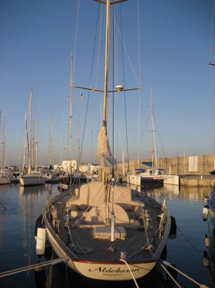 Yachts in Yasmine Marina Hammamet Tunisia