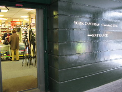 York Cameras in Bloomsbury London