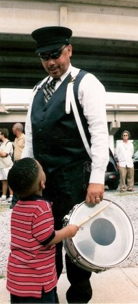 Young drummer Jazz Funeral New Orleans