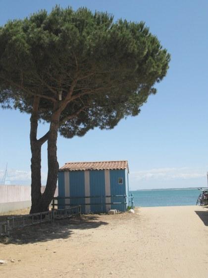 Île d'Oléron entrance to St. Denis beach