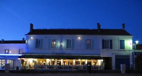 Île d'Oléron port of La Cotinière l'Ecailler restaurant