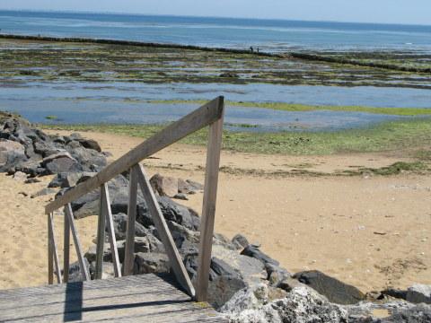 Île d'Oléron St. Denis écluse steps