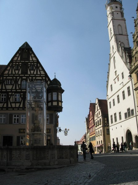 Rothenburg ob der Tauber city centre