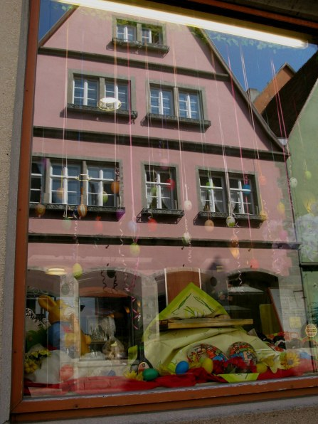 Rothenburg ob der Tauber Easter window