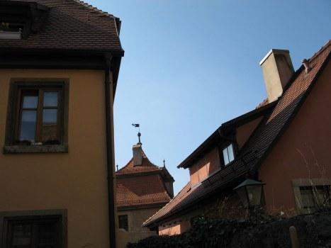 Rothenburg ob der Tauber rooftops