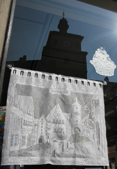 Rothenburg ob der Tauber linen lace