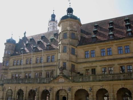 Rothenburg ob der Tauber Rathaus
