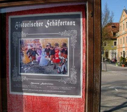Rothenburg ob der Tauber Shepherd's Dance poster