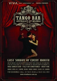 Poster for Tango Bar Melbourne Australia