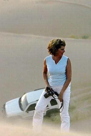 Abu Dhabi Desert atop dune