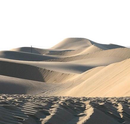 Abu Dhabi Desert: Criss cross Dunes