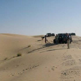 Abu Dhabi Desert Dune bashing briefing